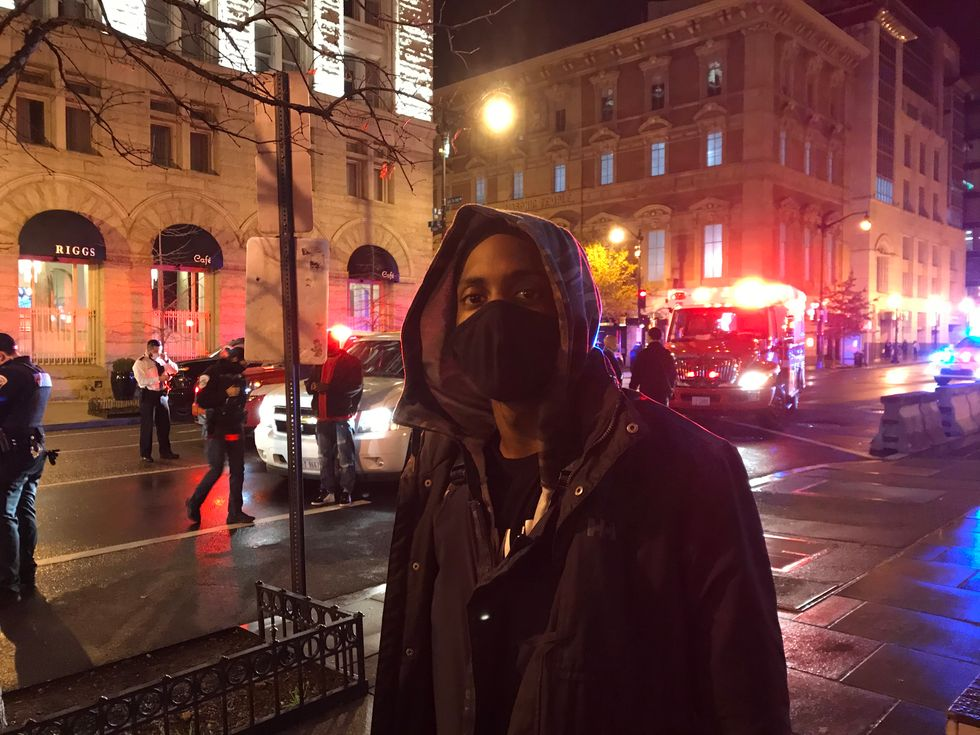 A 'rise in white supremacy': Black pastor alarmed by Proud Boys night of violence and vandalism in DC
