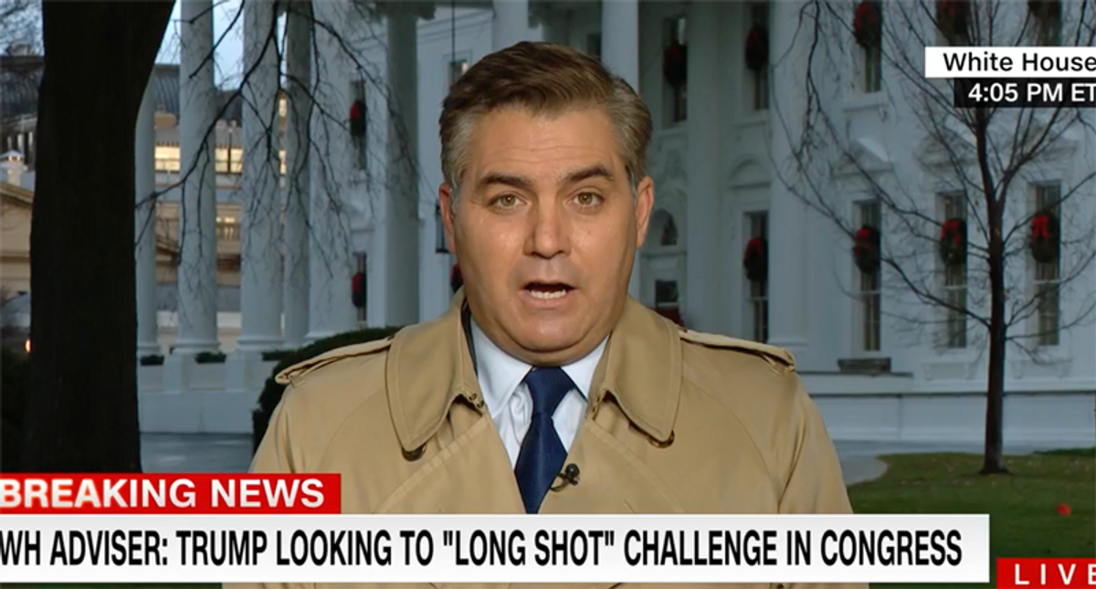 White House fears Republicans are finally ready to 'tear the band-aid off' and remove Trump: Acosta