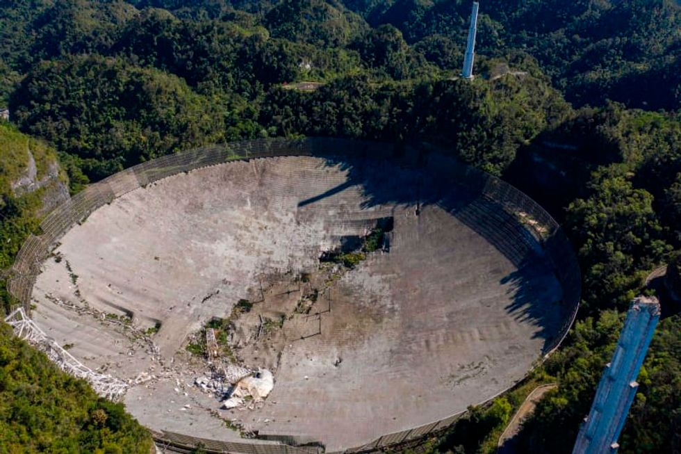 The collapse of a world-renowned radio telescope leaves an astronomical legacy