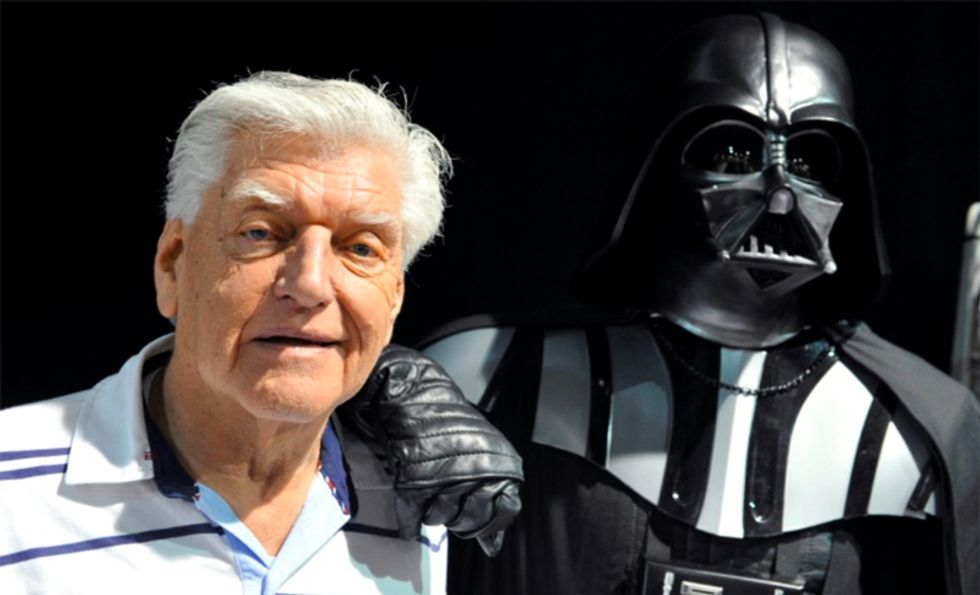 Darth Vader actor Dave Prowse dead at 85: agent
