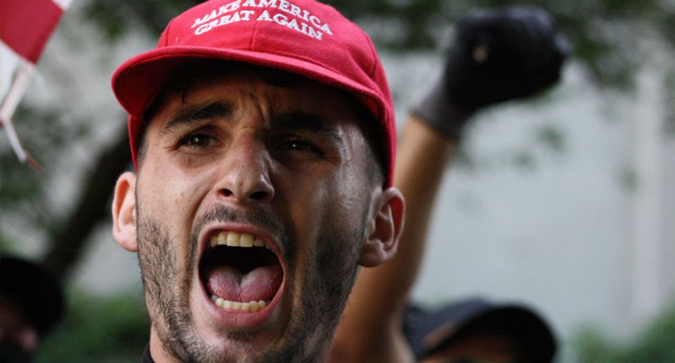 Right-wing anger is exploding because they know they're losing — and not just the election