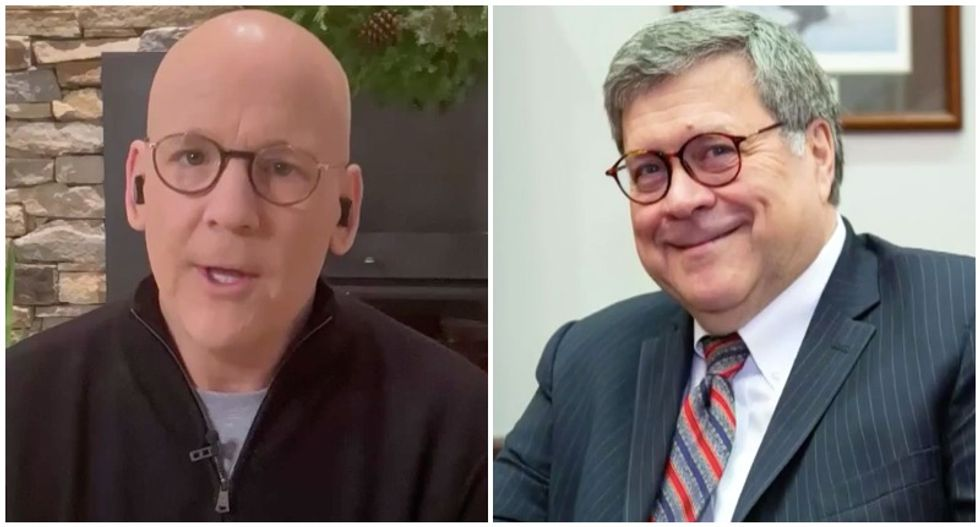 'This guy will live in infamy': MSNBC's John Heilemann rips Bill Barr as 'most corrupt attorney general in history'