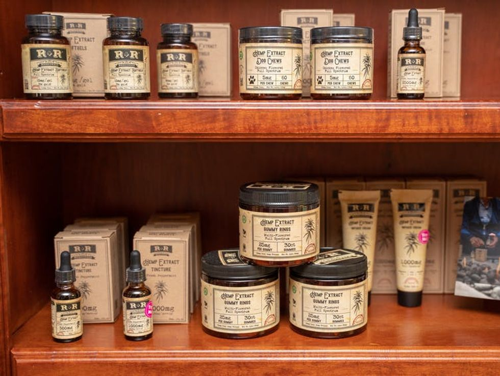 CBD products can be found all across the U.S.