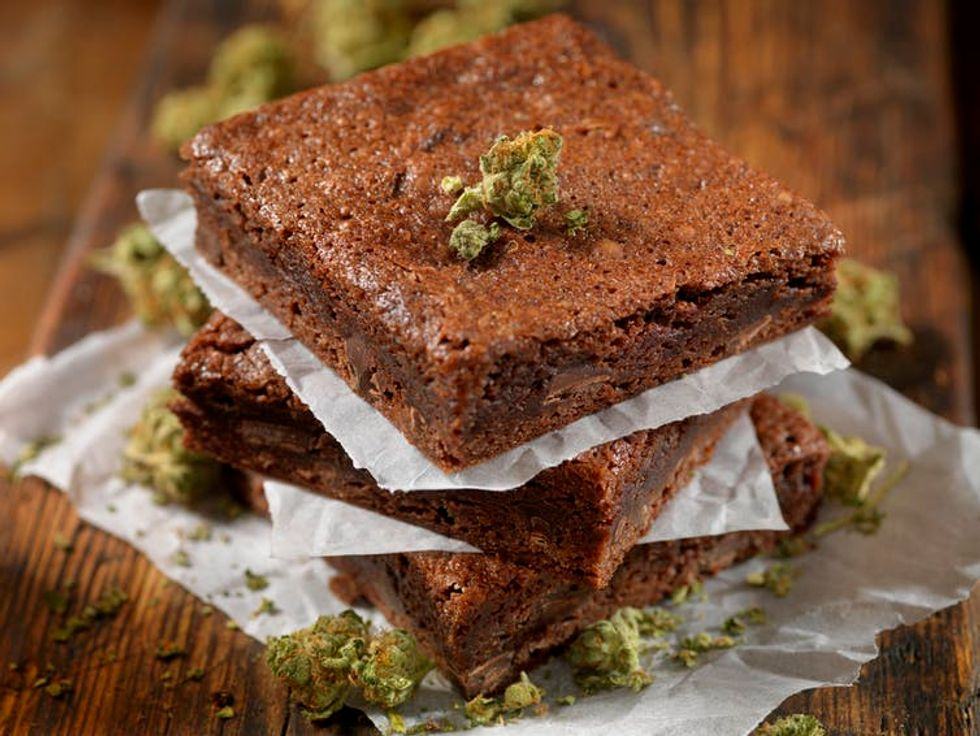 Dozens of food products laced with marijuana or CBD are on the market.