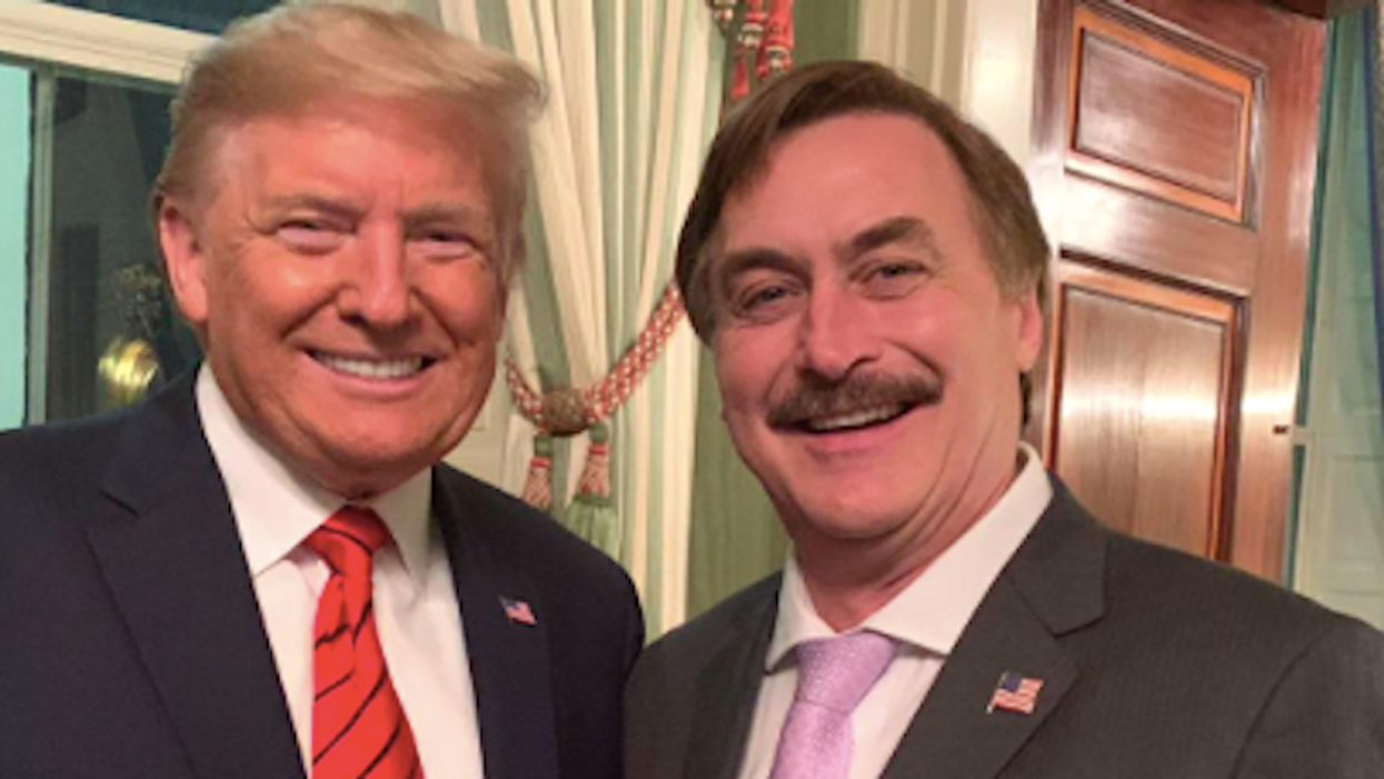 Mypillow S Mike Lindell Bankrolling Trump S Election Challenges And Turning Against Fox News Raw Story Celebrating 16 Years Of Independent Journalism