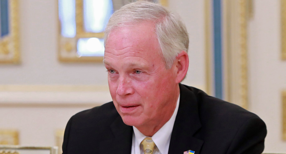 Ron Johnson blocks $1,200 COVID payments -- diving to become GOP's worst bottom feeder