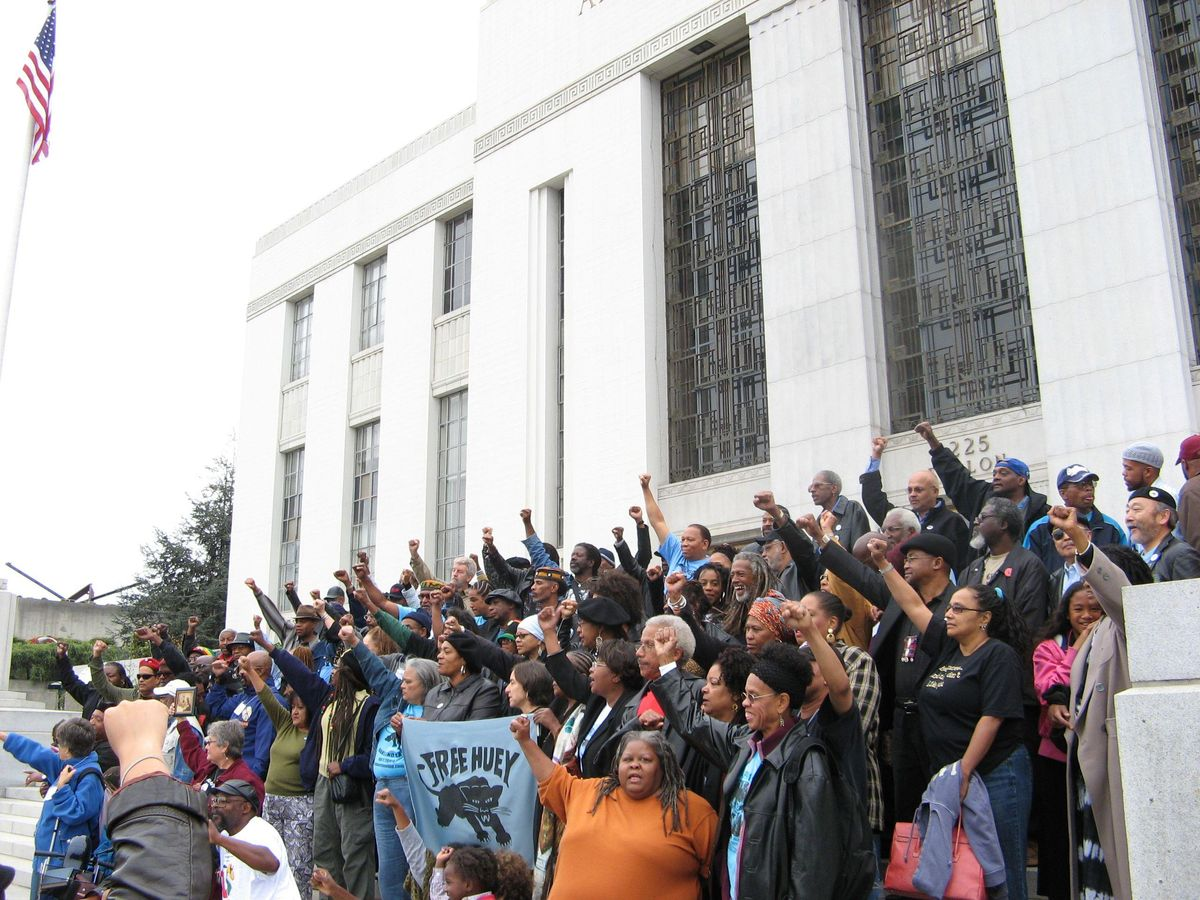 Revolutionary Black Panther Party chapter 'asking for equity' in march to KCPD patrol