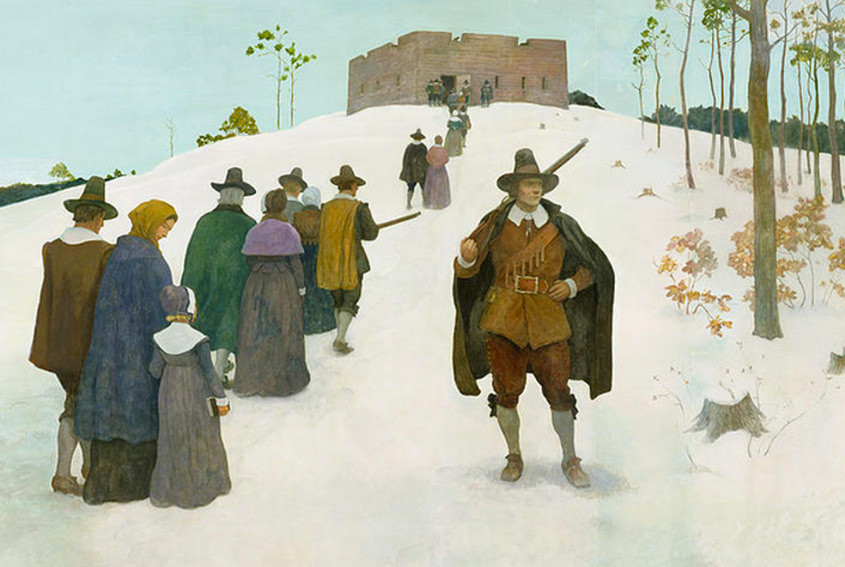 Here's why the Puritans cracked down on celebrating Christmas