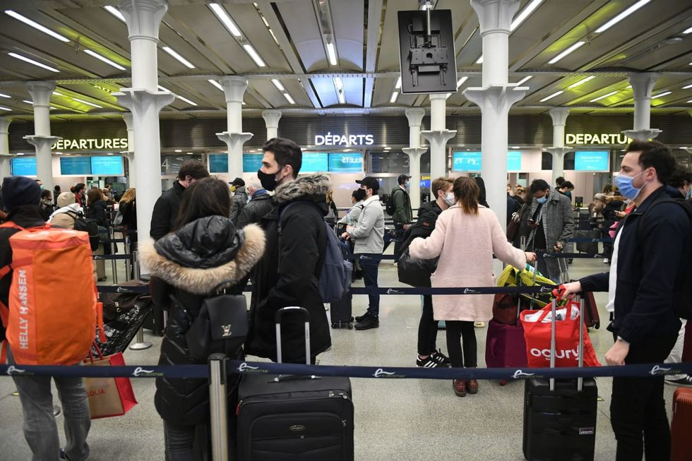 EU countries halt flights from Britain as new virus strain spreads