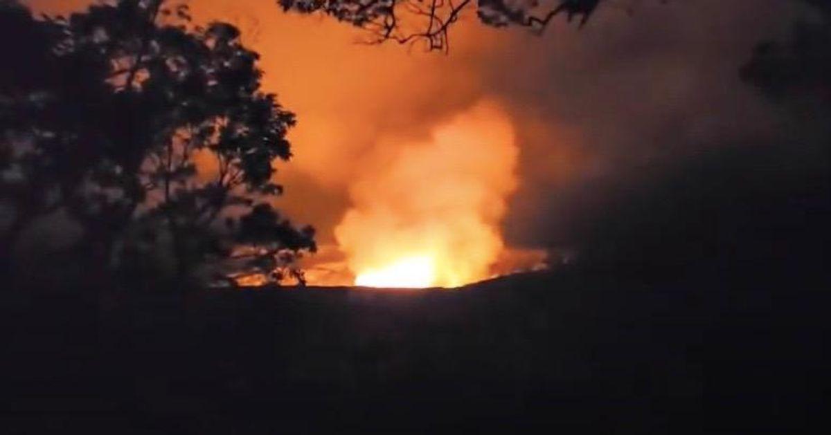 Hawaii's Kilauea volcano erupts: USGS