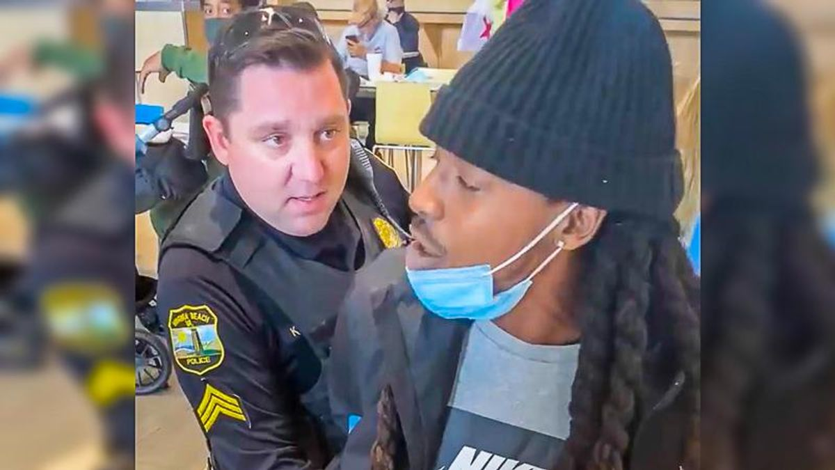 Virginia police 'gathering the facts' after innocent Black man is handcuffed while eating at shopping mall