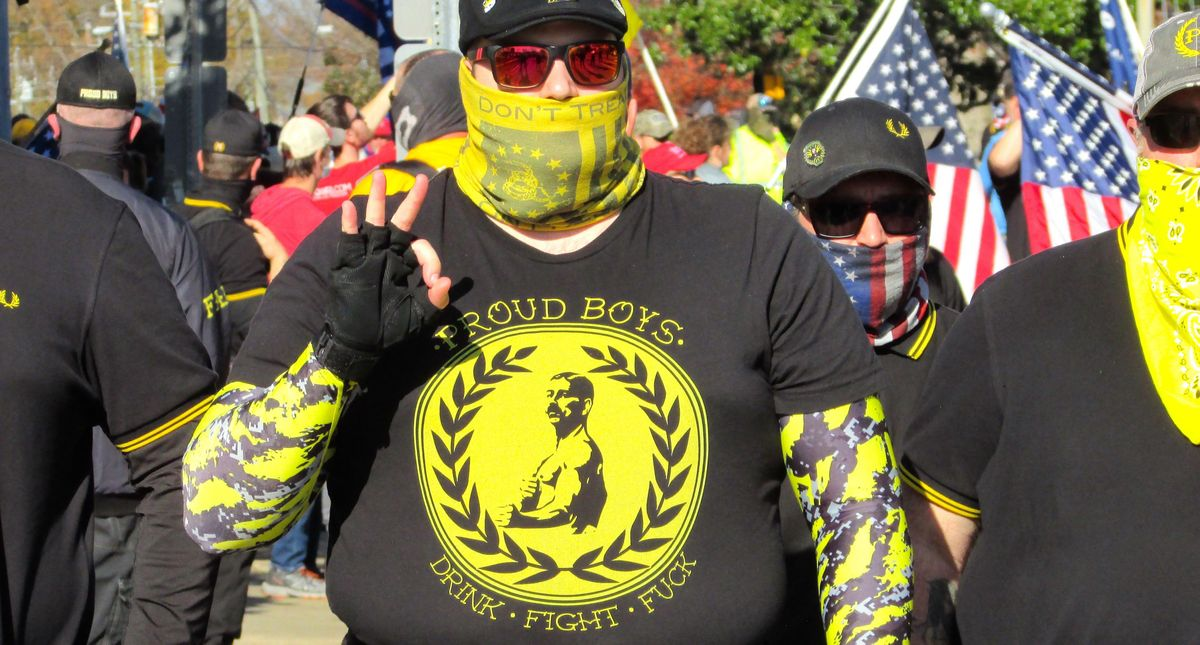 Proud Boys rallies result in violence against people of color -- but their driving ideology is hatred against women