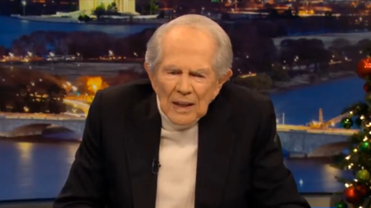 Pat Robertson informs Donald Trump he lost: 'You've had your day and it's time to move on'