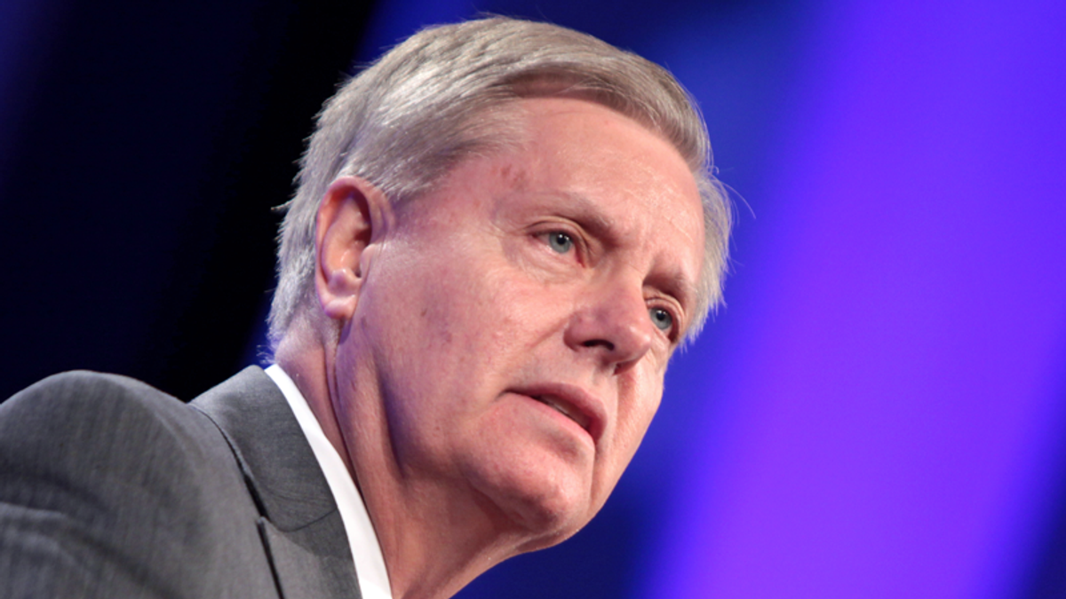 Even Lindsey Graham thinks Trump's scheme to overturn the election will backfire on Republicans