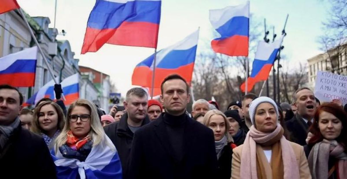 Russia sanctions EU over poisoning of 'delusional' Alexei Navalny