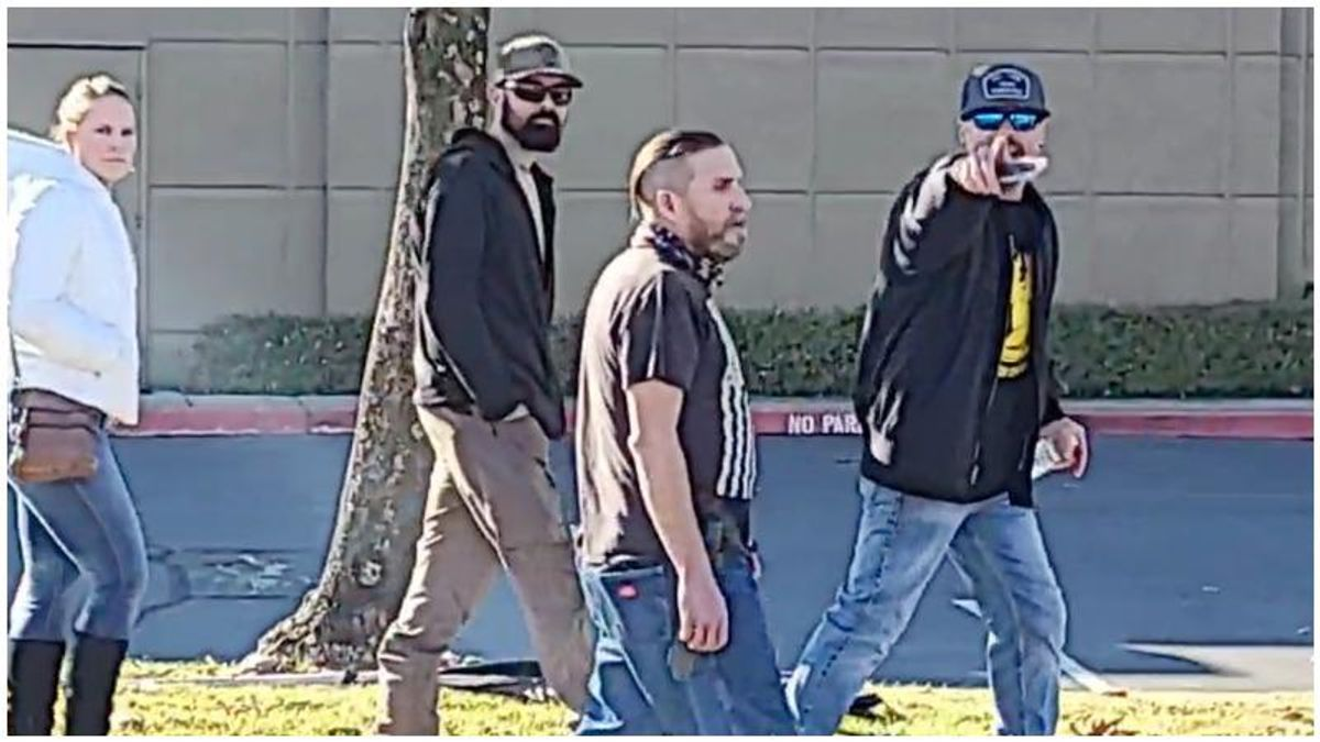 WATCH: Tensions erupt as Proud Boys show up to defend right-wing pastor defying COVID restrictions