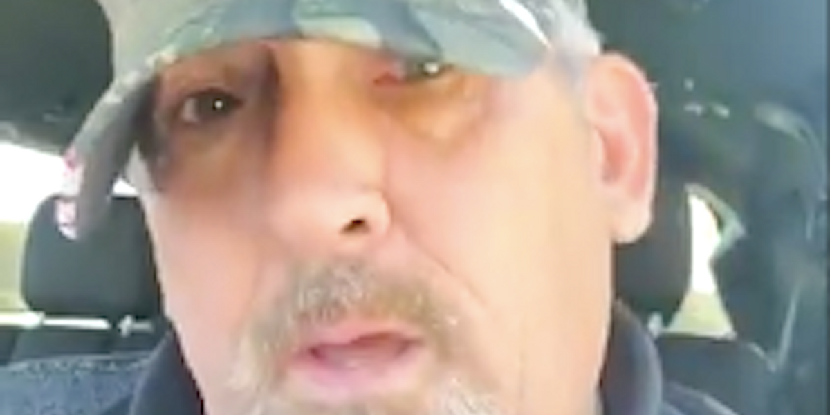 Trump-loving ex-cop charged with gun threat against Black man who stared at his racist shirt