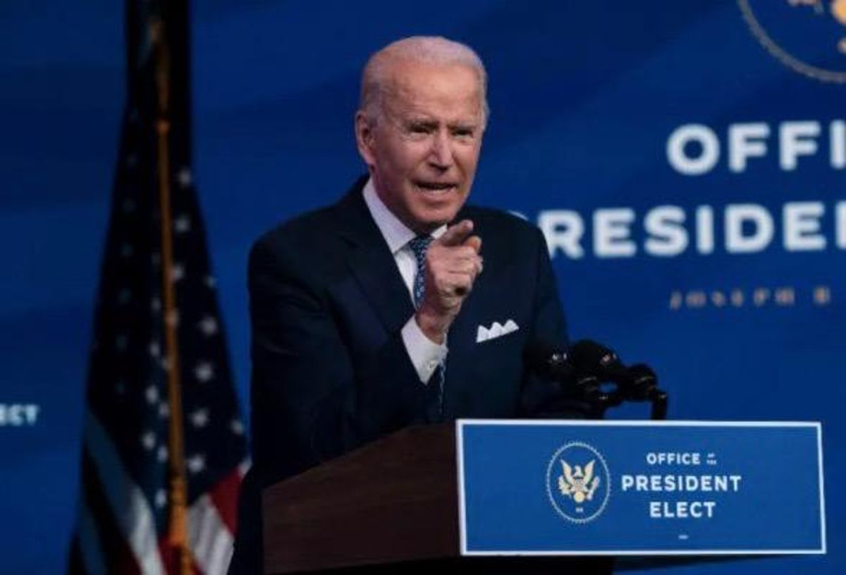 Biden: 'Don't dare call them protesters -- they were a riotous mob, they were insurrectionists'