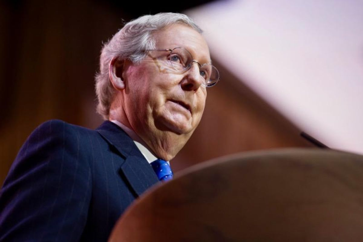'Basically trying to overturn the Senate election': Mitch McConnell delaying democratic takeover in effort to preserve filibuster