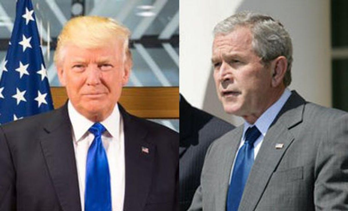 What If, after 9/11, George W. Bush had just thrown a bunch of parties?