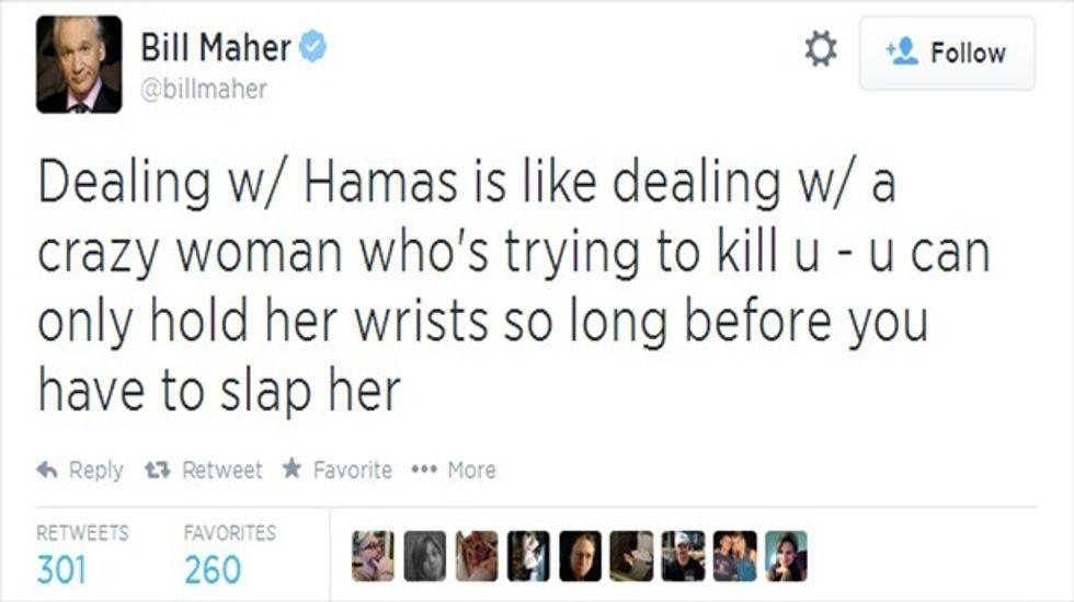 Maher tweet1