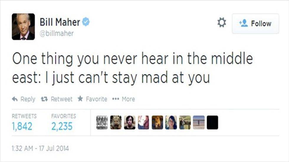 Maher tweet2