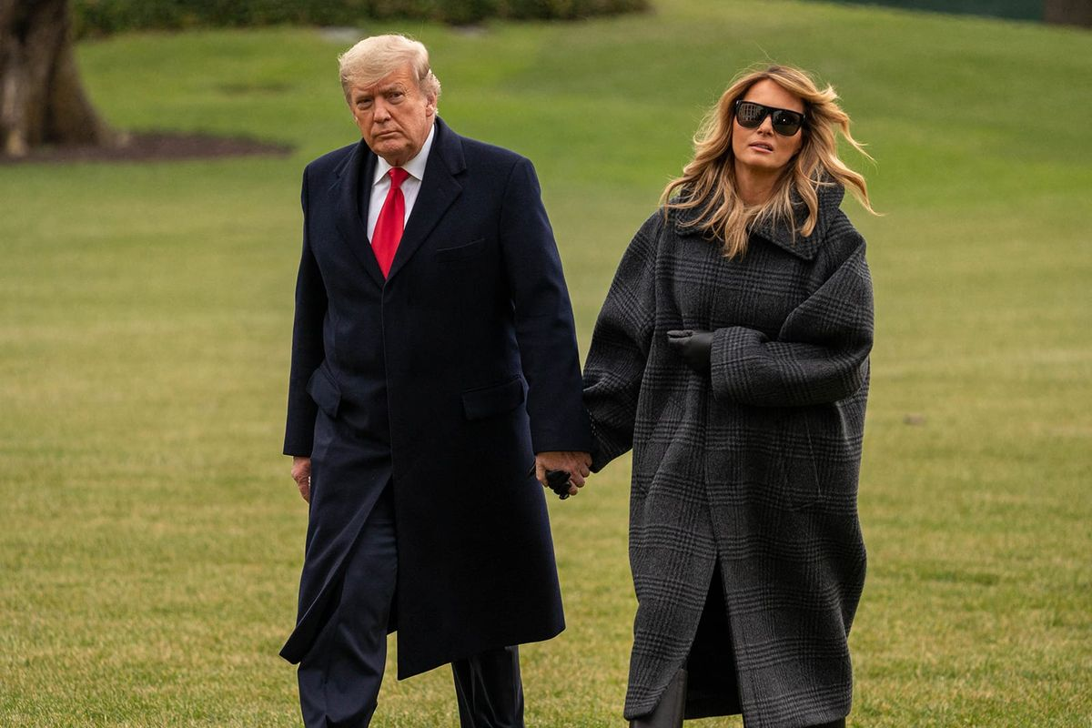 'So petty': Donald and Melania Trump fired chief usher before leaving White House to spite Bidens