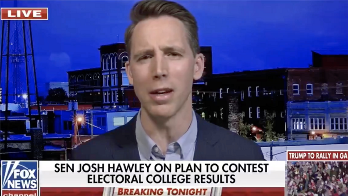 Josh Hawley pushes delusional claim of 'tremendous' home state support despite calls for his resignation