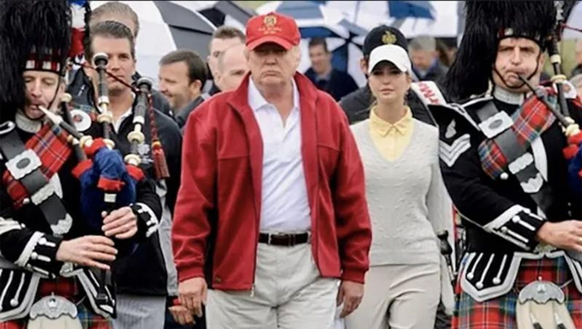 Trump's Scottish golf course posts million dollar loss as it relies on interest-free loans to stay afloat: report