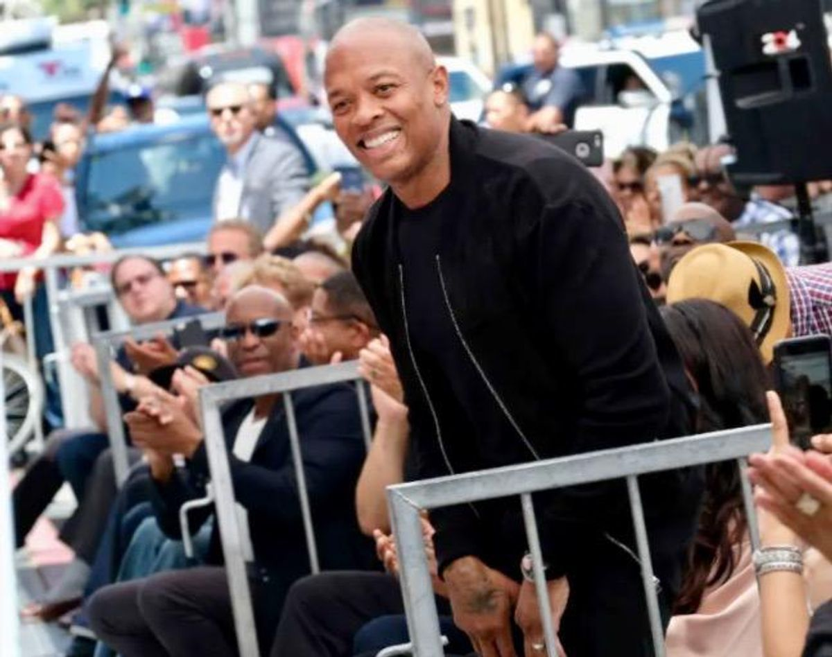 Rap mogul Dr. Dre 'doing great' after hospitalization with possible brain aneurysm