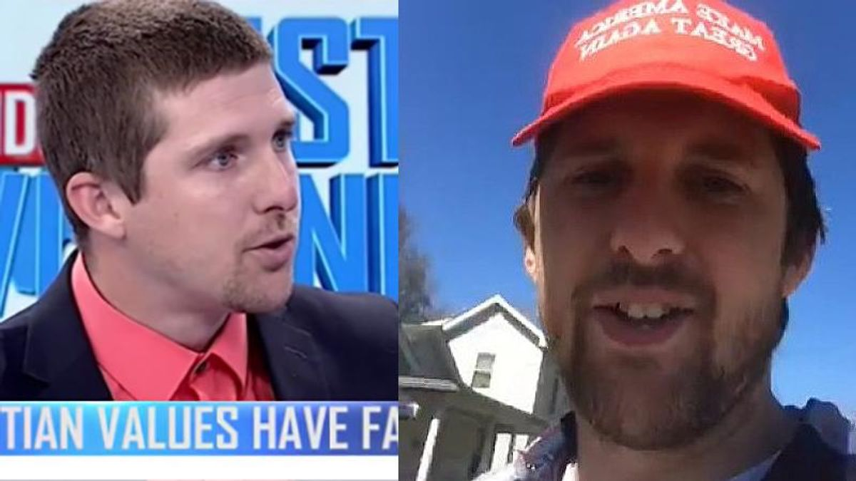Newly-elected West Virginia House of Delegates member joined the Trump mob who stormed the US Capitol