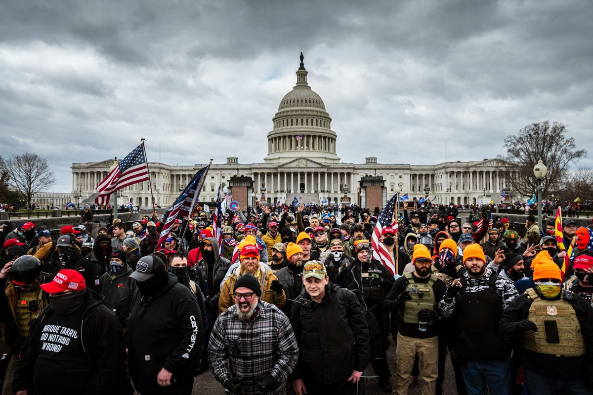 White supremacists on FBI terrorist watch list were in DC for insurrection: report