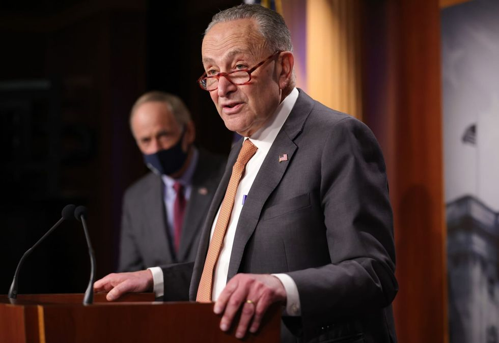 Schumer calls for immediate removal of Trump after Capitol chaos