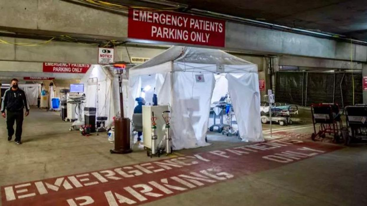 'So much death': LA hospital reels at center of COVID storm