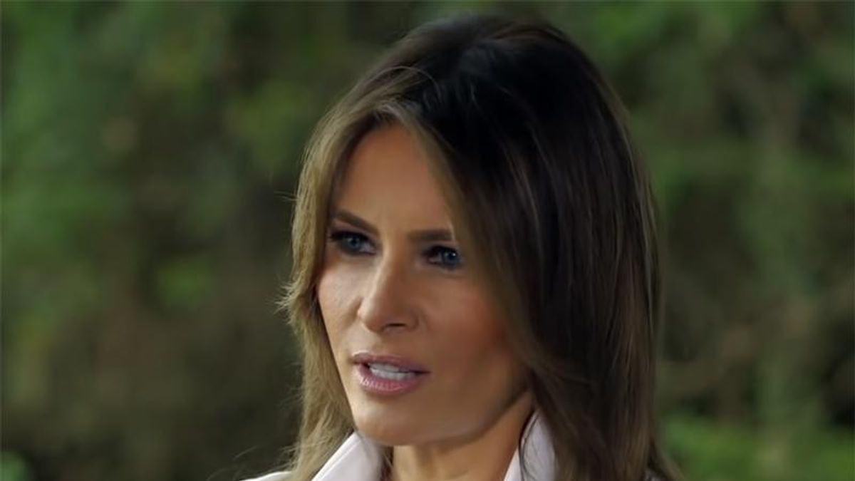Melania Trump whines about 'salacious gossip' about her in new official statement on Capitol rampage