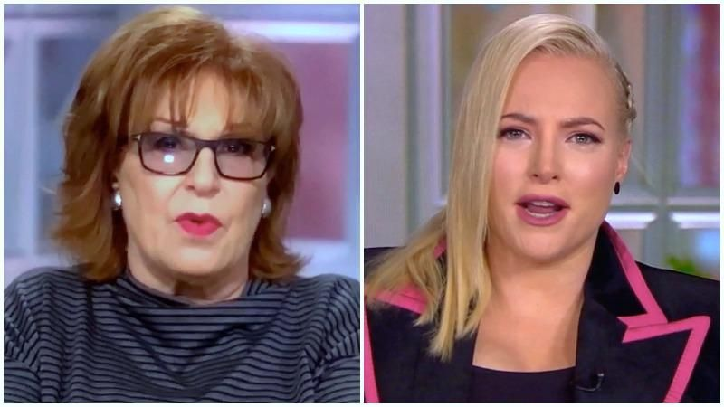 Sparks Fly During Meghan McCain's Return To The View
