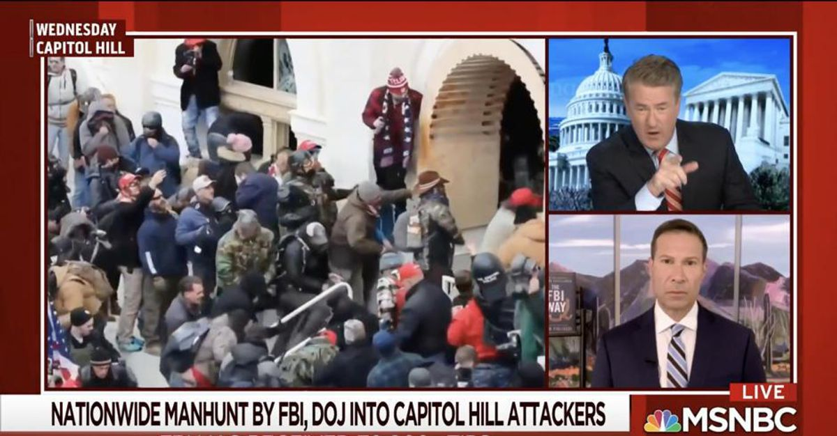 'They've committed treason': Joe Scarborough demands Capitol Hill insurrectionists be charged with 'seditious conspiracy'