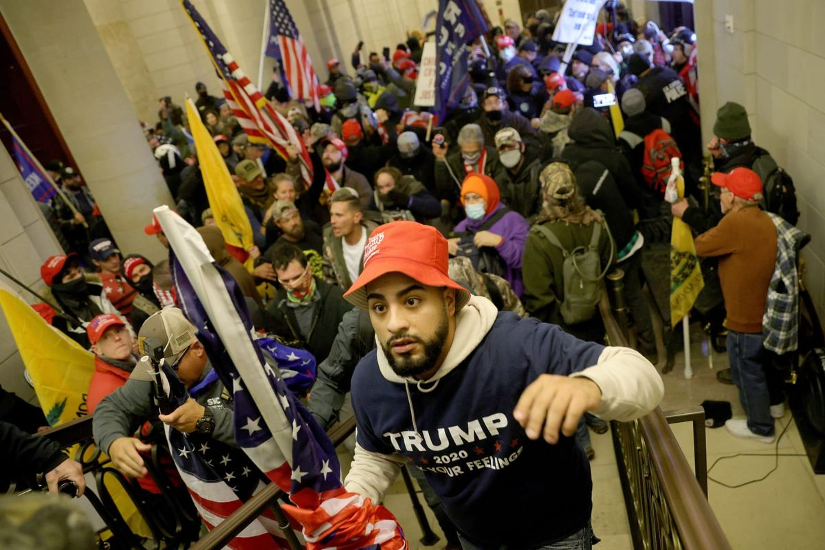 DOJ considering letting some of the Capitol invaders walk without charges: report