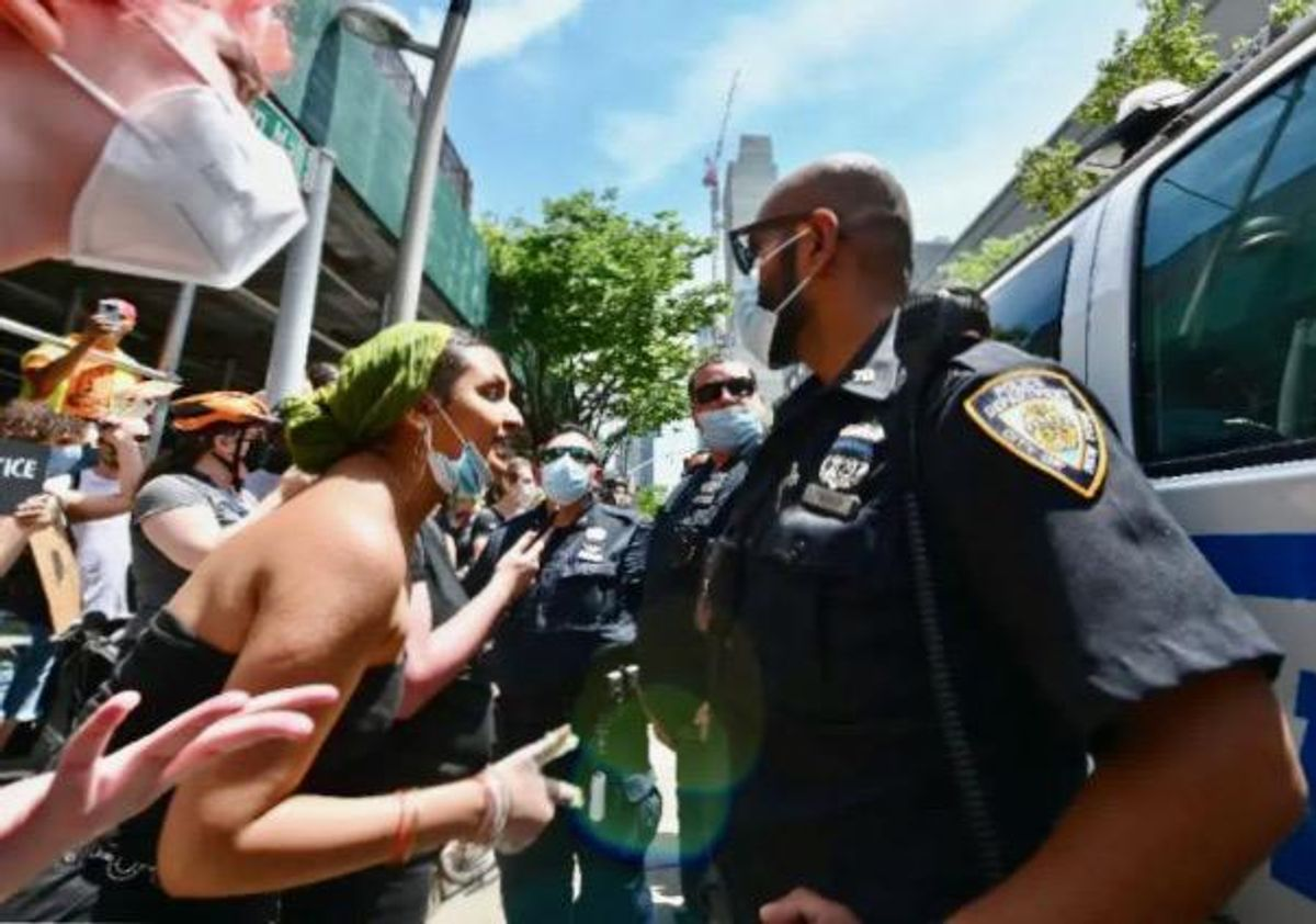 New York attorney general sues NYPD over 'brutal' protest crackdown
