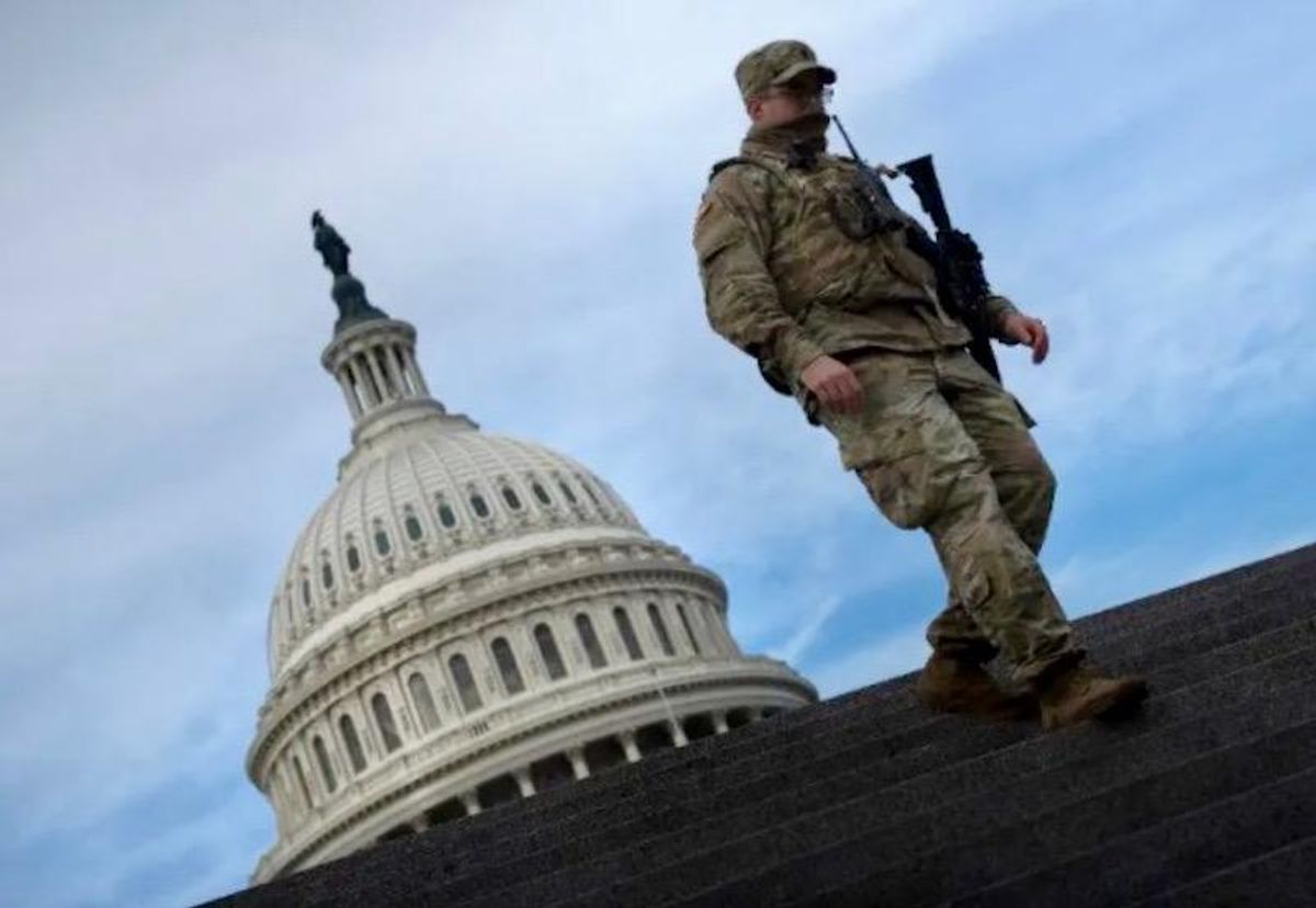 'No more cold marble': National Guard in DC to get cots so they don't have to sleep on the floor