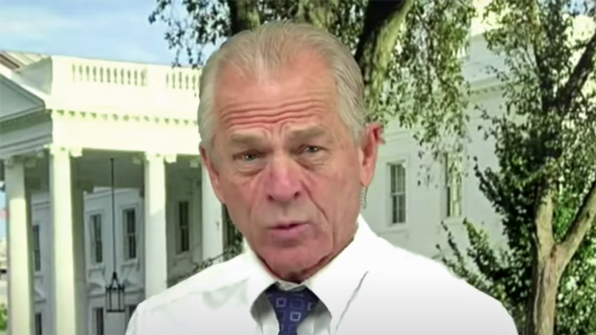 Lincoln Project shames Peter Navarro as he continues to push Trump's election fraud conspiracies