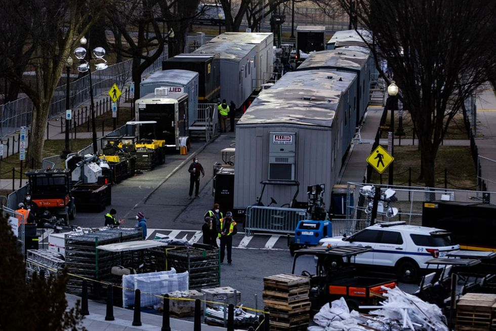 National Mall sealed off through Biden's inauguration -- protesters will be searched amid 'extremist' threats