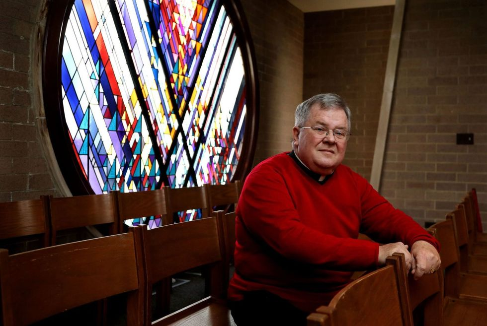 A Catholic priest speaks out about Trump's 'ugly behavior' -- and some parishioners walk out