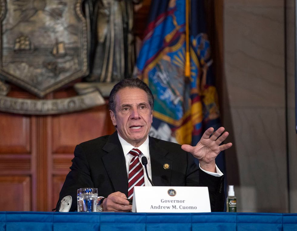 Long Island man infected with UK COVID-19 strain, Cuomo says