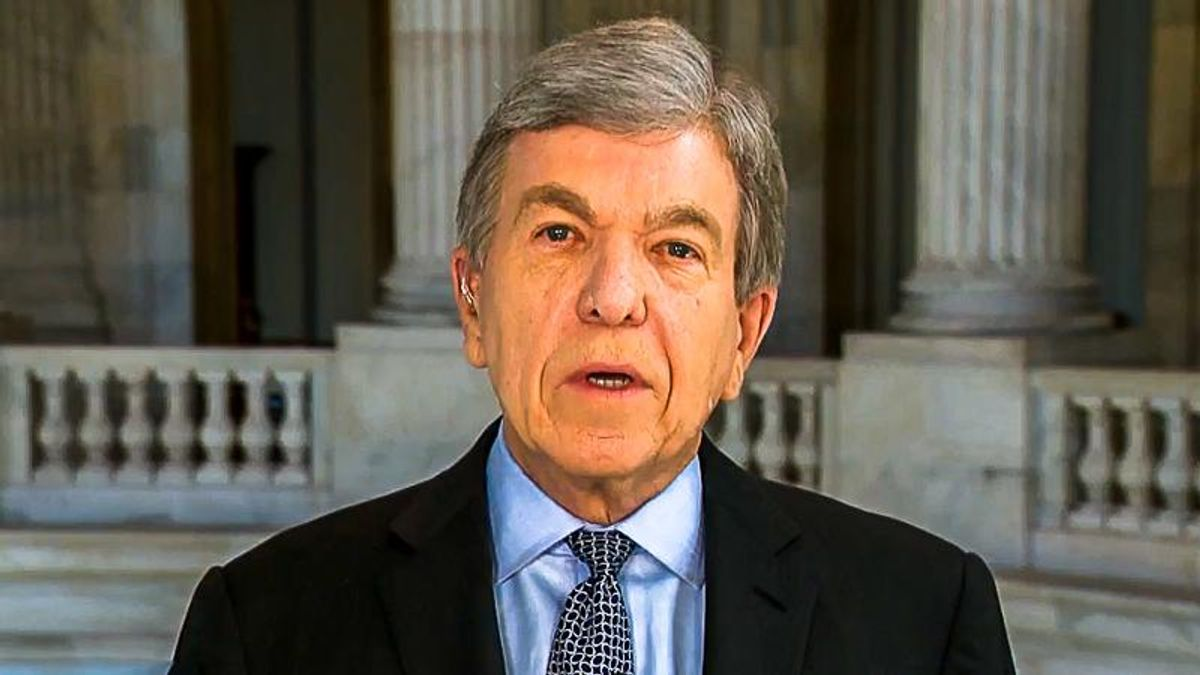 GOPer Roy Blunt scorched in hometown paper for announcing retirement after four years of supporting 'mentally unfit' Trump