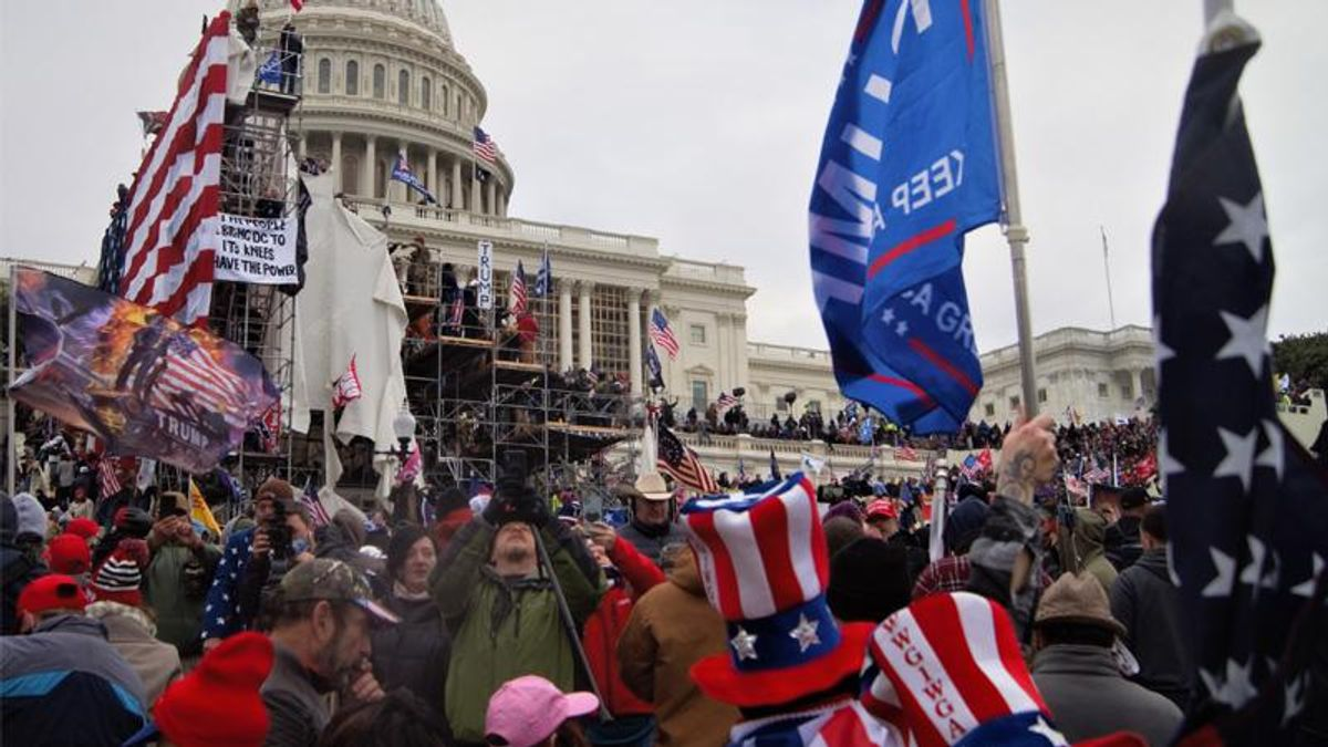 Republican demands Trump tell QAnon to 'stand down' on March 4