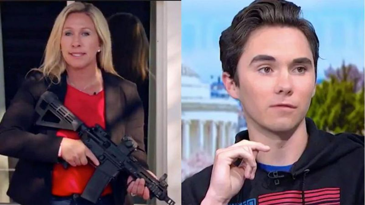 Marjorie Taylor Greene busted for trying to cover-up ugly smears of Parkland survivor -- who she called 'littler Hitler'