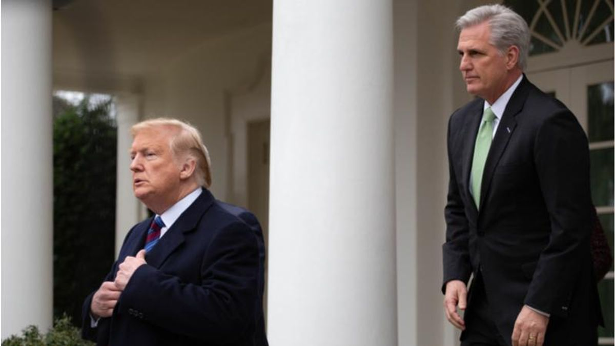 Trump told Kevin McCarthy that he bore some of the blame for the Capitol riot: Fox News
