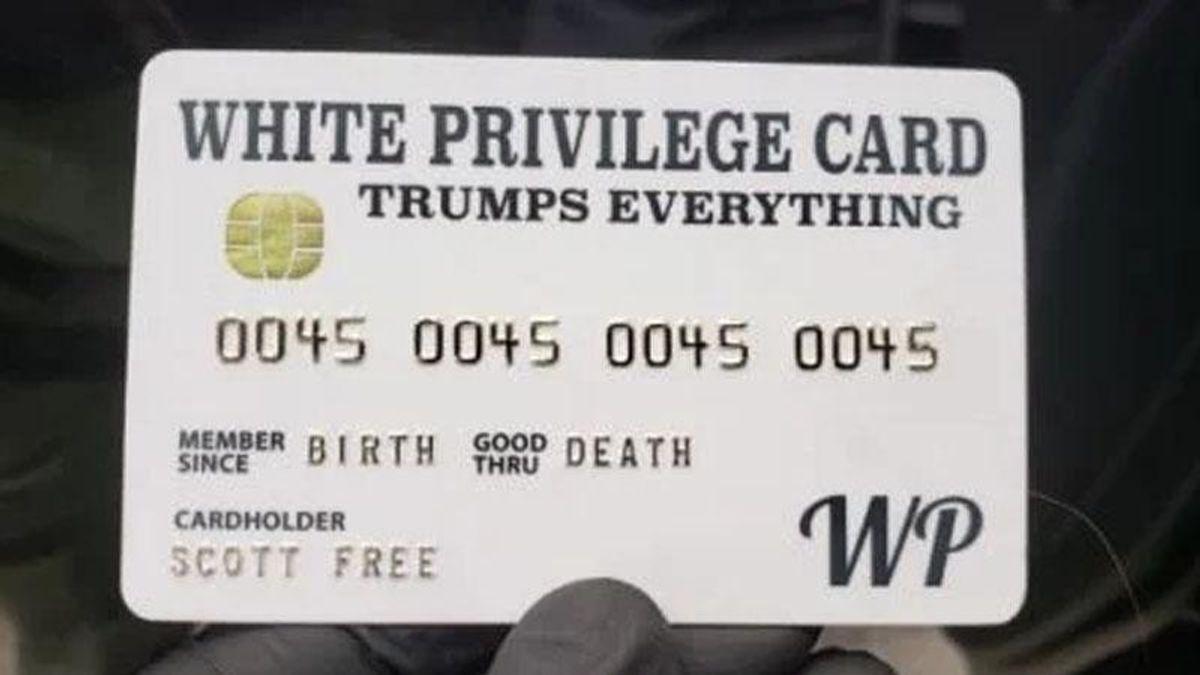 'White privilege Trumps everything': Jokey meme, or symbol of America's disease?