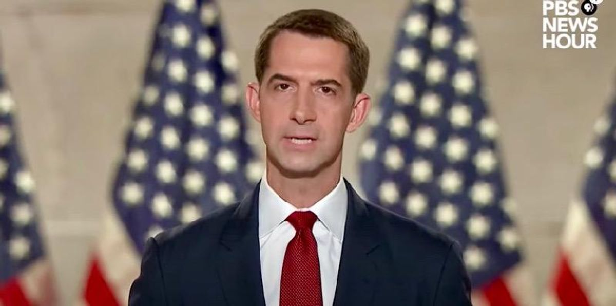 House Democrat not backing down after blasting Tom Cotton's 'racist trash' speech